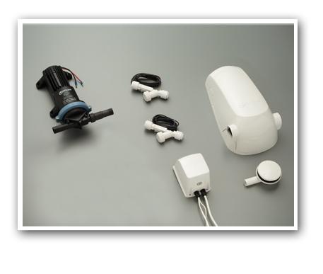Easa bomba de agua para duchas de dise o moderno for Duchas electricas modernas